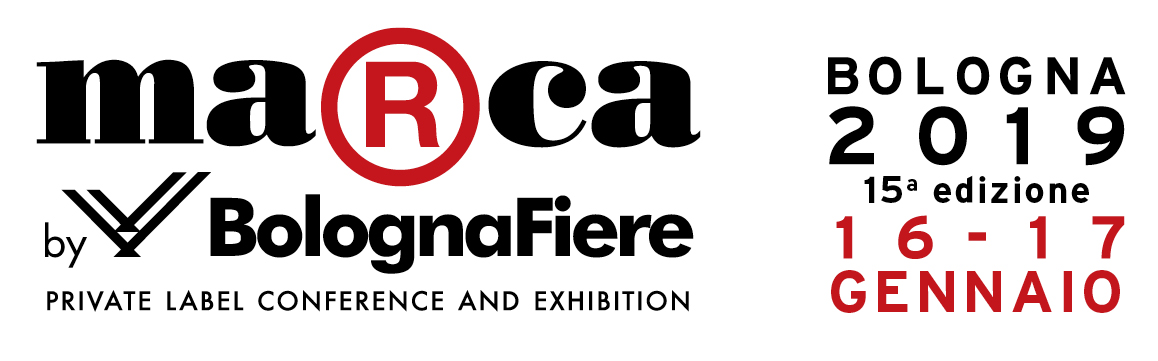 MARCA EXHIBITION IN BOLOGNA FROM 16 TO 17 JANUARY 2019 - HALL 29 STAND A34
